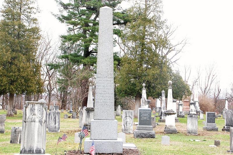 Martin Van Buren's grave