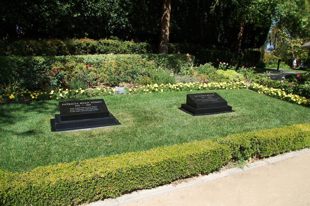 Richard Nixon's gravesite