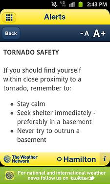 """Never try to outrun a basement"""