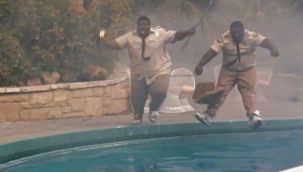 Kool and Buffy make a splash