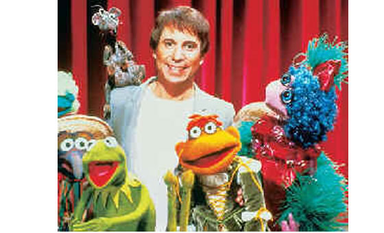 Paul Simon and the Muppets