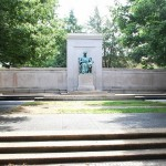 The James Buchanan Memorial in Washington's Meridian Hill Park.