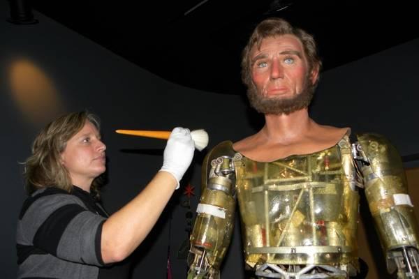 Cyborg Abe Lincoln