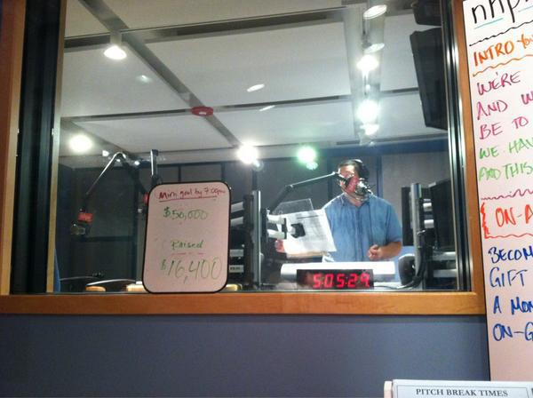 Brady in the studio