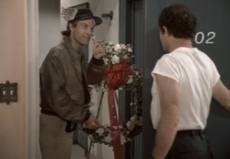 Murdock delivers flowers