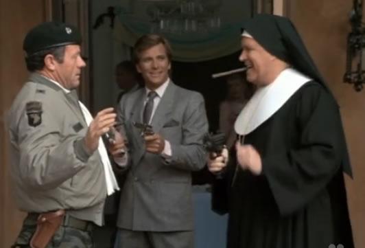Hannibal the gun-totin' nun