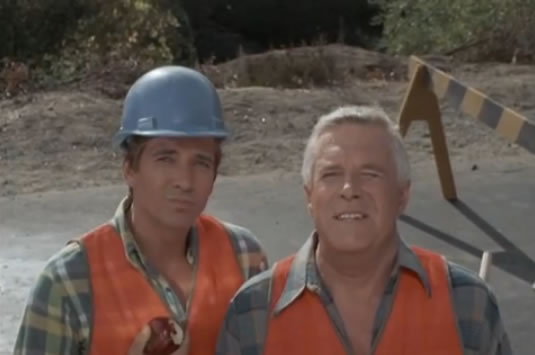 Face and Hannibal as a road crew