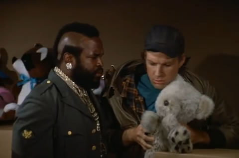 B.A., Murdock and Bogey Bear