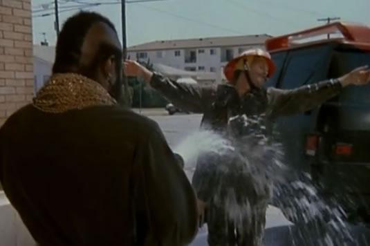B.A. sprays Murdock