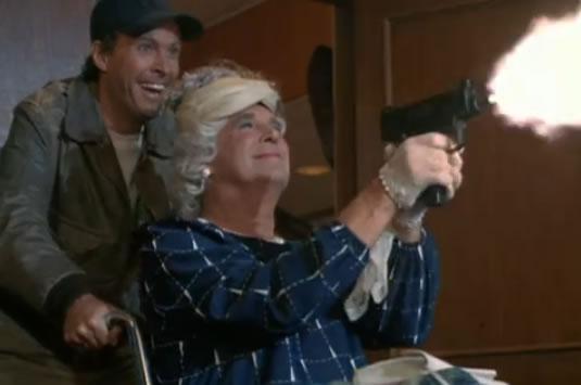 Mama Murdock on a shooting spree