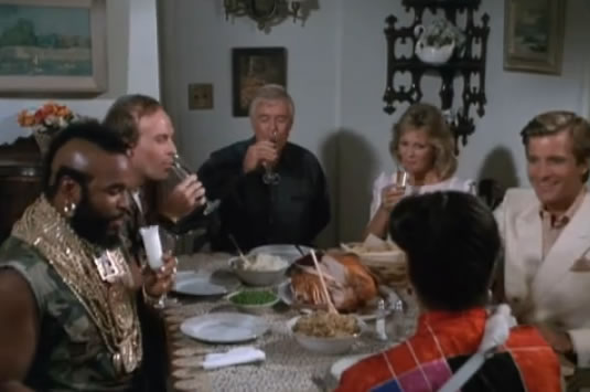 Mama Baracus throws a dinner party