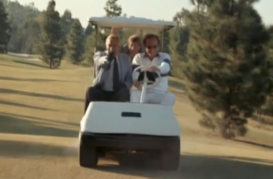A-Team golf course gunfight