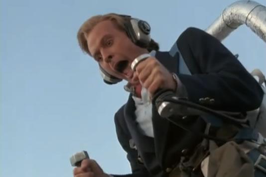 Murdock in a jetpack