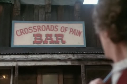 Crossroads of Pain bar