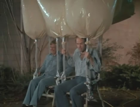 Hannibal and Murdock Take To The Skies in Their Beautiful Balloons