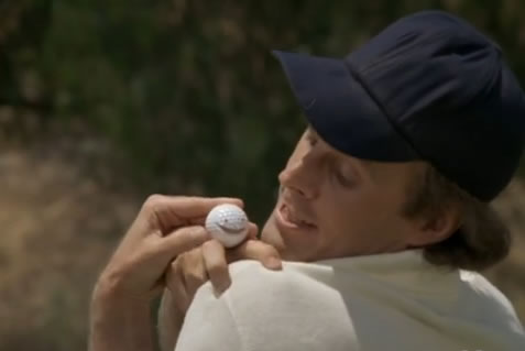 Murdock and a talking golf ball