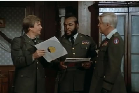 The A-Team looks through old records