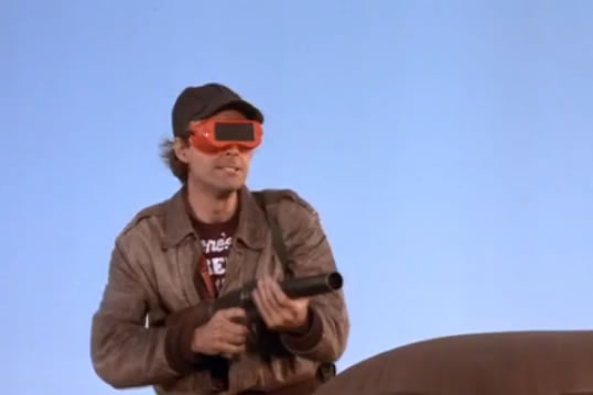 Murdock wears a View Master