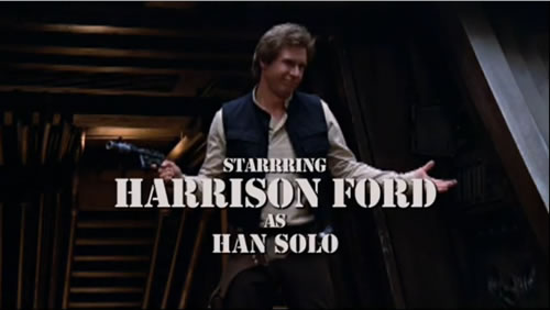 A-Team Star Wars mashup: Harrison Ford as Han Solo