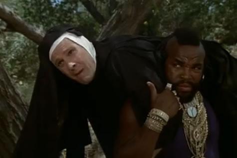 Murdock is a nun