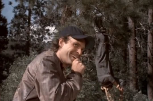 Murdock catches B.A. in his Bigfoot trap