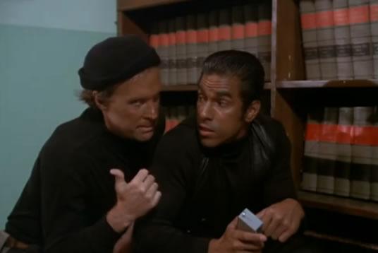 Murdock and Frankie are commandos