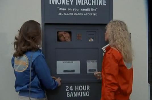 Murdock inside an ATM