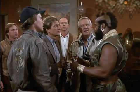 The A-Team decides which plan to use