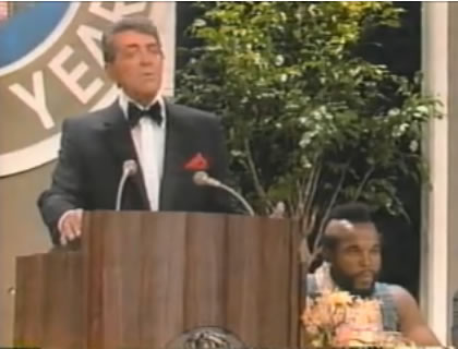 Dean Martin roasts Mr. T