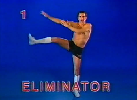 Dirk Benedict does 'The Eliminator'