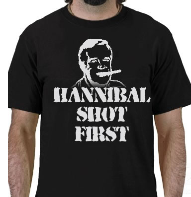 Hannibal shot first