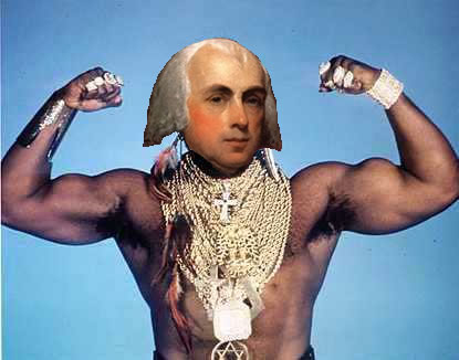 James Madison is B.A. Baracus