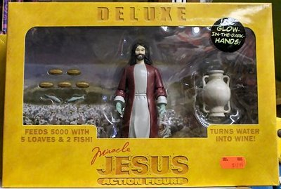 Deluxe Jesus action figure
