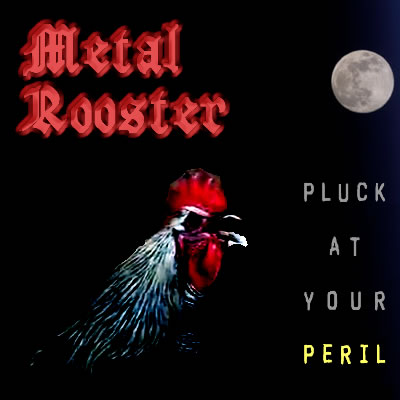 Metal Rooster: Pluck At Your Peril