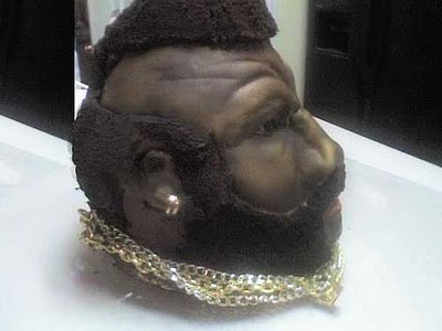 a Mr. T cake