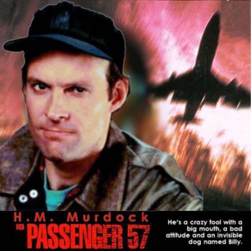 H.M. Murdock is Passenger 57