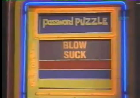 Password board: Blow and suck