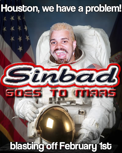 'Sinbad Goes to Mars' poster