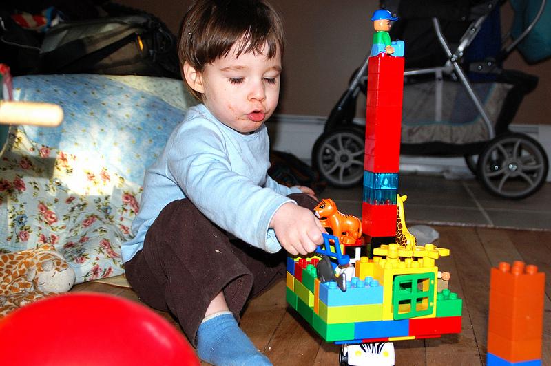 Owen's Lego Caravan