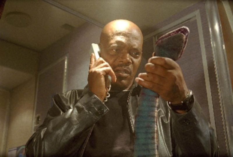 """Samuel L. Jackson in """"Snakes on a Plane"""""""