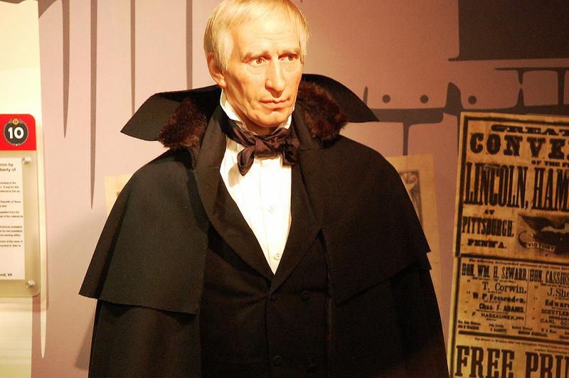 William Henry Harrison figure at Madame Tussaud's