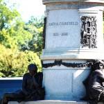 Base of the James Garfield Monument, Washington.