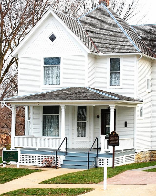 Ronald Reagan Boyhood Home, Dixon, Illinois