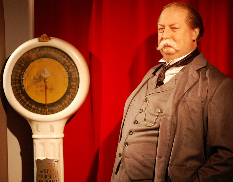 William Howard Taft figure at Madame Tussaud's