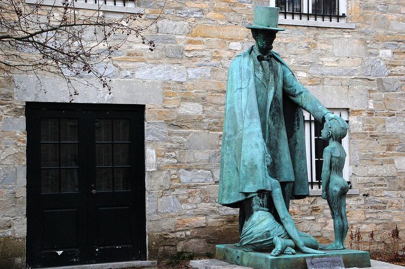 """The American Spirit"" statue"
