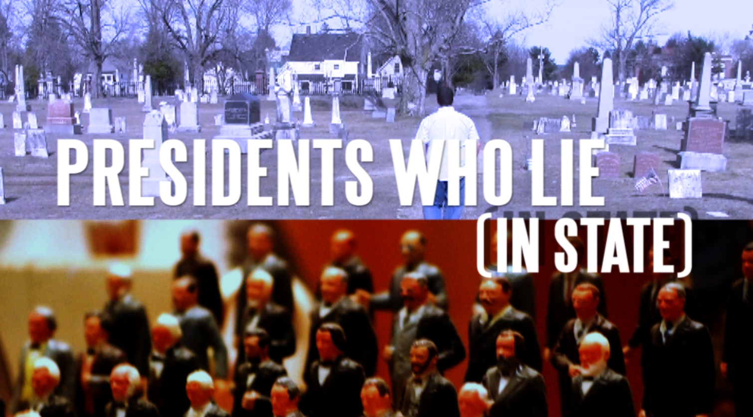 Presidents Who Lie (In State) title card