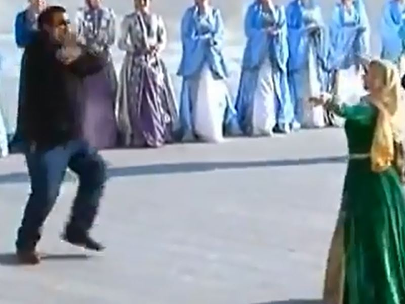 Steven Seagal dances!