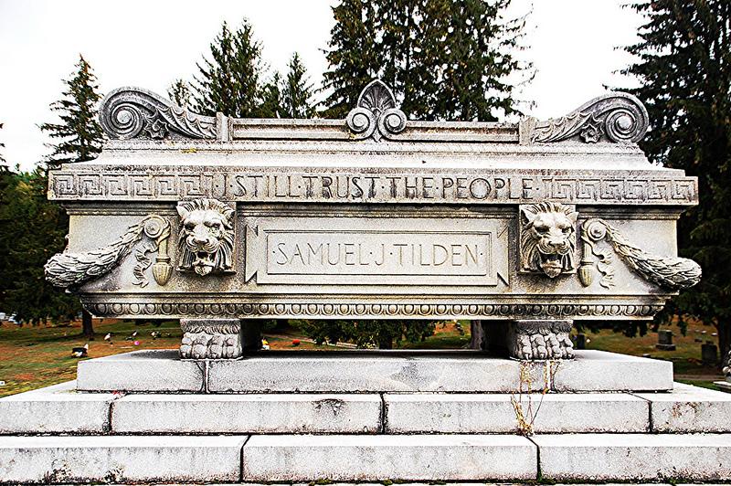 Samuel Tilden's grave