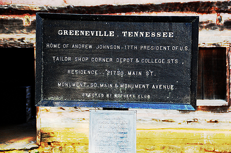 Greeneville,Tennessee sign