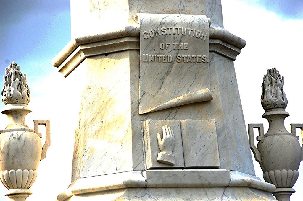 Andrew Johnson's grave marker